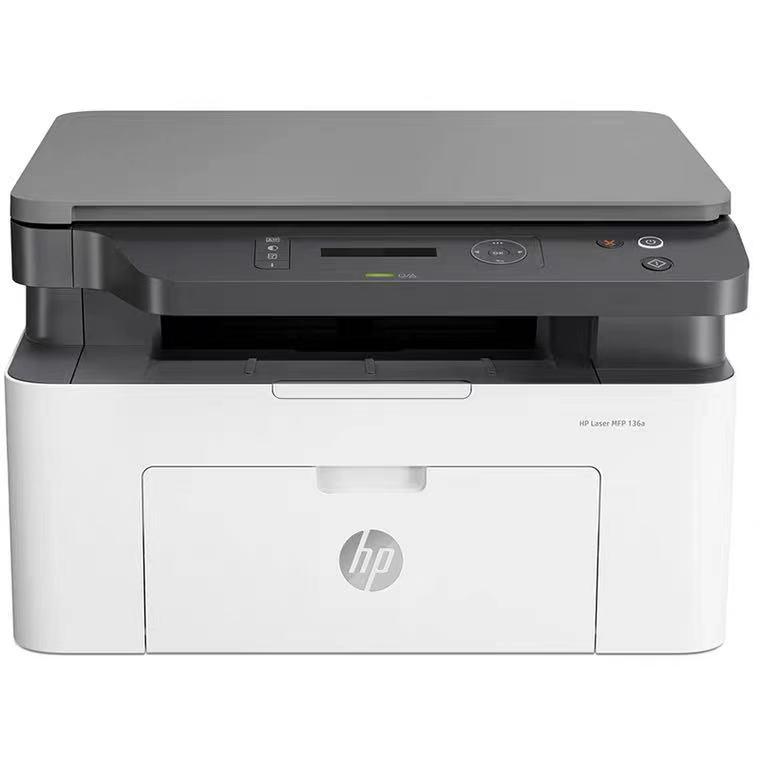 惠普MFP 136A一体机激光打印机